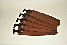 """HUNTER CEILING FAN NEW PARTS - SET 5 BLADES & BLADE IRONS FOR 52"""""""