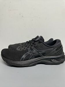 Asics Mens Gel Kayano 27 1011A767 Black Running Shoes Lace Up Low Top Size 9