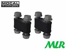 Mocal Raffreddatore doppio in gomma anti vibrazione Mount COPPIA Setrab mlr.avb2