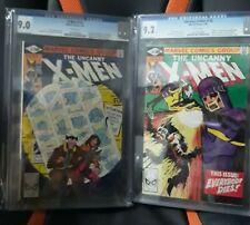 2 books Cgc xmen 141 and 142  9.0 Xmen 141 And 9.2 Xmen 142 days of future past