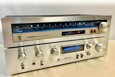 Pioneer Stereo Amplifier SA-510 & Tuner TX-410 Serviced See Video Demo