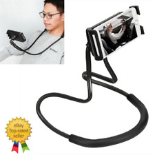 Lazy Neck Phone Holder Stand For iPhone Desk 360 Degree Rotation Mobile Phone Mo