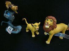 DISNEY FIGURE SET OFF il Re Leone Simba CAKE TOPPER COMPLEANNO Bullyland