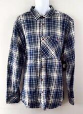 NWT $70 Sean John Men's Plaid FLANNEL L/S Button Down TAILORED FIT Shirt Sz 3XL