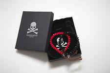 Mastermind Japan MMJ Red and Black Poly Bracelet With Velvet Bag and Box