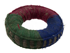 Singing Bowl Cushions Tibetan Ø13cm Antique Ring Carrier Sling Newari Blue 1158