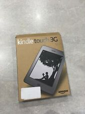 Amazon Kindle Touch (4th Generation) 4GB, Wi-Fi + 3G, 6in - Silver