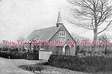 HA 82 - St John's Church, Bashley, New Milton, Hampshire c1917 - 6x4 Photo
