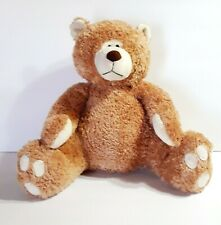 """Sugarloaf Creations 14"""" Plush Sitting Brown Bear Furry and Soft Ages 3 & Up"""