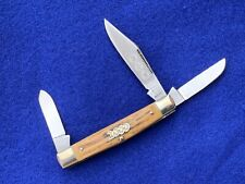 """LIMITED """"2000"""" BULLDOG BRAND STAG STOCKMAN KNIFE SOLINGEN GERMANY STANDING DOG"""