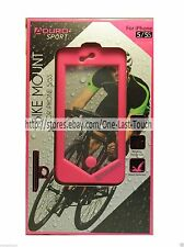 ADURO SPORT* Heavy-Duty Case BIKE MOUNT Water Resisttant FOR iPHONE 5/5S Pink