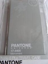 Pantone NUOVO Telefono Custodia GRIGIO per il iPhone 6 Plus