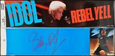 Billy Idol Lot Of 2 80's Bumper Stickers Rebel Yell