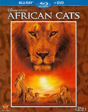 Disneynature: African Cats Blu-ray & DVD 2-Disc Set 2011 w/Slipcover NEW SEALED