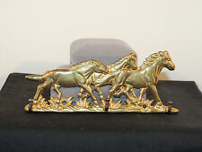 Brass Horse Hanger over 5 inches wide (5809)