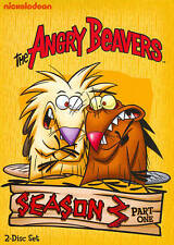 THE ANGRY BEAVERS - SEASON 3 THREE, PART 1 ONE 2-Disc DVD Set