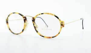 RODENSTOCK Glasses Mod R7221 C Gp 48 20 150 Eye Frame Tortoise Gold Round Panto