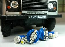 Azul Brillante Led Smd Tablero Instrumento Speedo Land Rover Defender 90/110 Td5 Kit