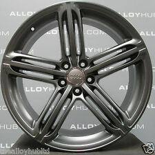 "Original Audi Q5 8R S-Line 20"" Zoll 5 Segment Speichen titan grau Alufelgen X4"