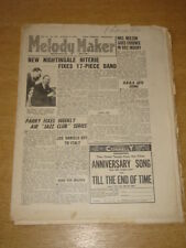 MELODY MAKER 1947 JANUARY 11 FELIX KING NIGHTINGALE NIGTERIE +