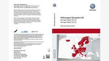 RNS315 Navigation SD Card V11 AZ Europe West VW Skoda Seat 3AA051866AT