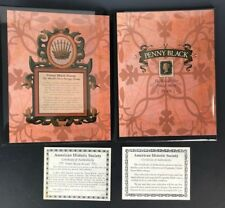 1840 Penny Black Worlds First Stamp Collection Set