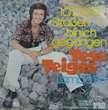 "7"" 1969 RARE ! TESS TEIGES : 10000 Straßen bin ich gegangen /MINT-?"