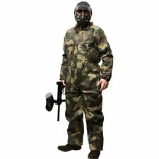 Disposable Paintball or Airsoft Coveralls / Jumpsuit - Camo - Large