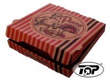 100 x Pizzakartons 20x20+4,2cm Pizzabox NYC Braun Pizza Boxen Pizzeria Kartons