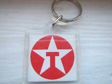 THE TEXAS COMPANY > TEXACO SERVICE STATION ADVERTISING LOGO KEYCHAIN KEYRING