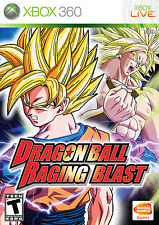 DRAGON BALL RAGING BLAST ( JEUX XBOX 360 ) COMPLET -- CIB
