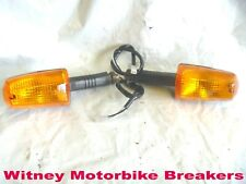 TRIUMPH FRONT INDICATORS FRONT REAR PAIR TROPHY DAYTONA SPEED TRIPLE TRIDENT
