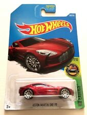HOT WHEELS 2017 HW Exotics Aston Martin One-77  # 200 NEW & SEALED