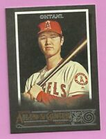 2020 Topps Allen & Ginter X Shohei Ohtani #24 Los Angeles Angels