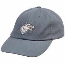 Game of Thrones Stark Sigil Adjustable Baseball Dad Cap