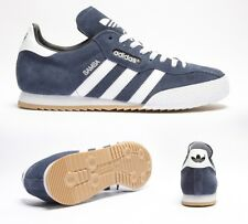 db67efe3a7c923 Mens Adidas Samba Super Suede Navy Run White 019332 Casual