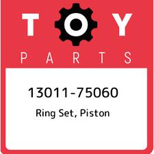 13011-75060 Toyota Ring set, piston 1301175060, New Genuine OEM Part