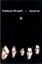 Take That Robbie Williams Sure Cassette