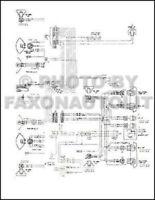 1976 gmc chevy 9000 9500 conventional wiring diagram foldout detroit 8v-71  | ebay  ebay
