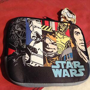 Star Wars SOFT  Retro Comic Strip Ipad Mini Zipped Case  15x18cm