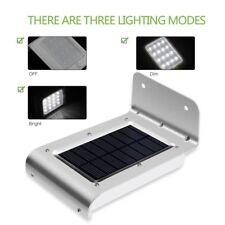 16 LED Solar Power Motion Sensor Security Lamp Outdoor Waterproof Light AZ