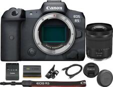 Canon EOS R5 Mirrorless Digital Camera with RF 24-105mm f/4-7.1 Lens