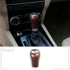 Pine Wood Grain For Benz W203 W204 S204 W211 W212 Gear Shift Knob Head Cover
