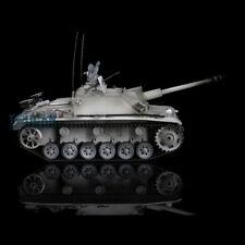 Us Stock 3868 HengLong 1/16 Metal Tracks Wheels German Stug Iii Rc Rtr Tank
