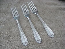 Wallace Stainless Montre  3 Salad Forks   3/ Pieces