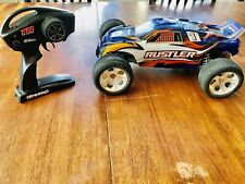 Traxxas Rustler XL-5 RC Stadium Truck 1/10 Scale With Brand New Radio/ Receiver