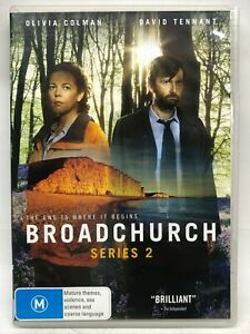 Broadchurch - Series Two - 3 DVD Set - AusPost with Tracking