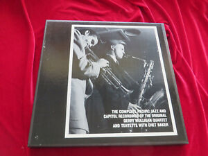 Complete Pacific Jazz & Capitol Recordings Gerry Mulligan Chet Baker 3-CD MOSAIC