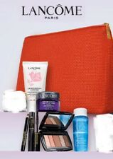 Lancome 7pc Travel Skin Care & Makeup Gift Set With Lancome Pouch Sealed Bag