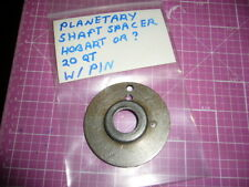 Planetary Shaft Spacer, Old style With Pin, Hobart A200, A-200 Mixer, Cleaned